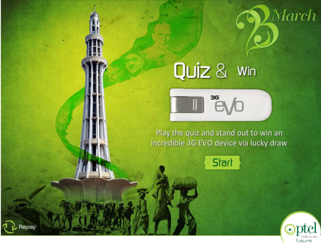 Pakistan Day 23rd March Quiz
