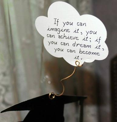 Imagination Graduate Quotes