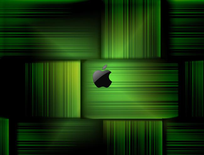 green apple Green Wallpaper