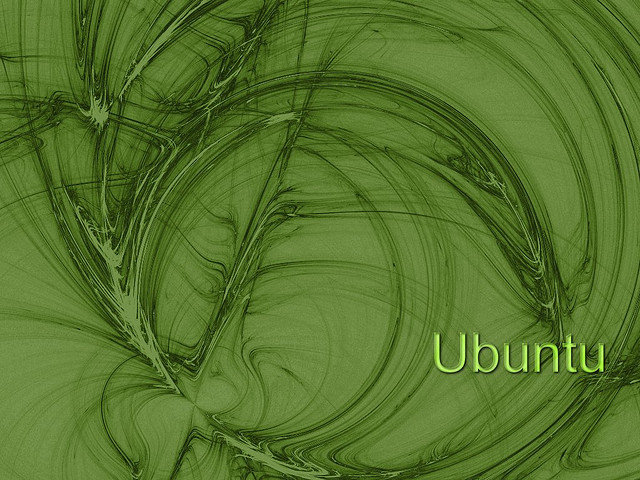 Ubuntu Green wallpaper