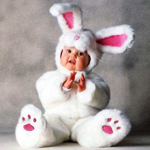 rabbit costume babies