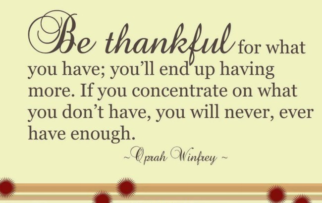 thankful life quotes