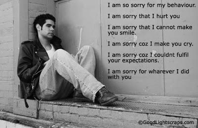 sorry quote