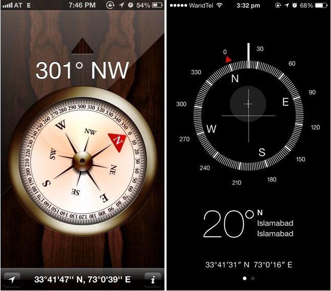 compass_ios_6_vs_ios_7