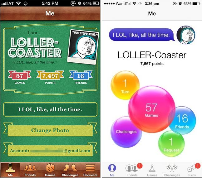 iOS 6 vs  iOS 7: A Breif Comparison of Interface - Addictive